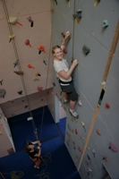 Picture of indoor climbing